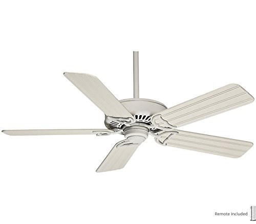Casablanca 55031, Panama Cottage White 52 Outdoor Ceiling Fan w Control & 99014 Blade (Remote Included) by Casablanca - Casablanca Fan Blade