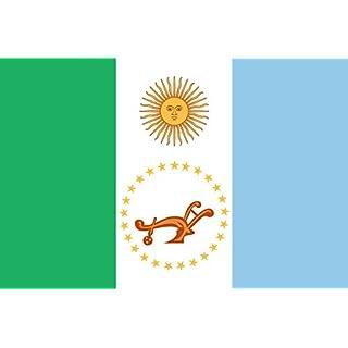 DIPLOMAT Flagge Chaco (Provinz) | Querformat Fahne | 0.06m² | 20x30cm für Flags Autofahnen