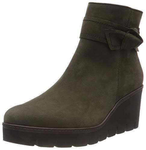 Gabor Shoes Damen Jollys Stiefeletten, Grün (Loden (Cognac) 11), 37.5 EU