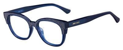 Jimmy Choo Damen JC177 19P 51 Sonnenbrille, Blau (Bluglttr Blu),