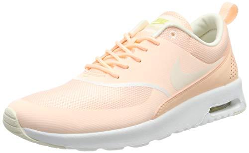 Nike Damen Air Max Thea Sneaker, Orange (Crimson Tint/Pale Ivory-Celery-Summit White 805), 42 EU -