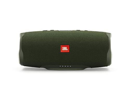 Oferta de JBL Charge 4 - Altavoz inalámbrico portátil con Bluetooth, parlante resistente al agua (IPX7), JBL Connect+, hasta 20 h de reproducción con sonido de alta fidelidad, verde