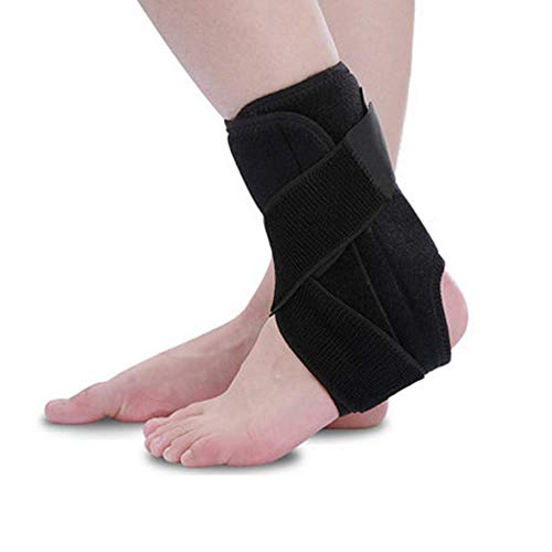 ZY Ankle Support Destra e Sinistra del Piede Brace per Uomini e Donne Manica Wrap Leggero e Traspirante Guardia slogata Stabilizzatore per la Corsa, Distorsioni Laminati,M