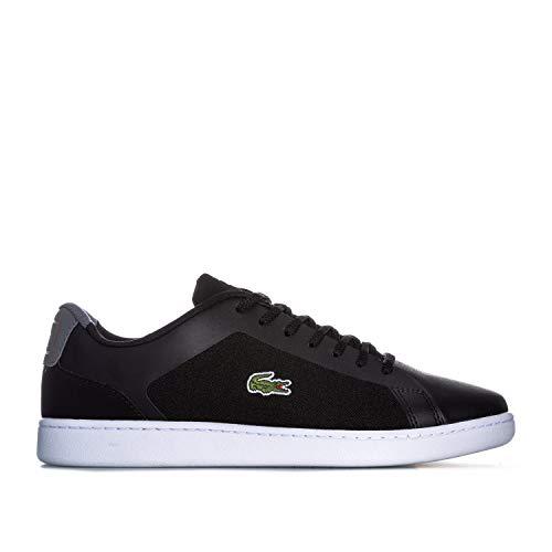 Lacoste Herren Schuhe/Sneaker Endliner 318 1 SPM, schwarz/grau - Größe: 40.5 EU