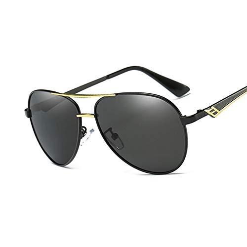 Sonnenbrille Männer Fahren Sonnenbrille Weiblichen Eyewear Pilot Stil Polarisierte Gläser Fashion Frame Design Neue Phnom Penh Schwarz