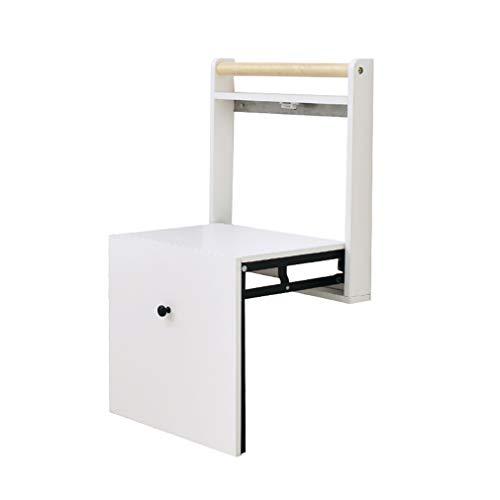 ALUK- small stool Ändern Sie Schuhbank, Moderne einfache faltende, an der Wand befestigte unsichtbare Schuh-Stuhl an der Tür, Handlauf für Schuhbank, Raumersparnis, super lasttragendes 150kg