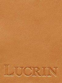 Lucrin - Boite carrée pour mouchoirs - Noir - Cuir Lisse Naturel