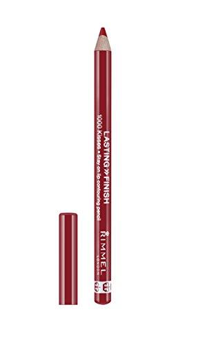Bare Escentuals Roten Lippenstift (RIMMEL LONDON Lasting Finish 1000 Kisses Stay On Lip Liner Pencil Red Dynamite)