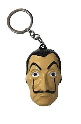 Máscara Llavero del Marchese - Metal - 6.5 x 4 cm