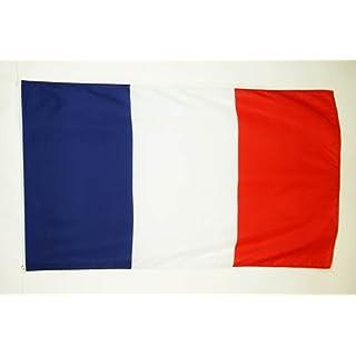 FLAGGE FRANKREICH 150x90cm - FRANZÖSISCHE FAHNE 90 x 150 cm feiner polyester - flaggen AZ FLAG
