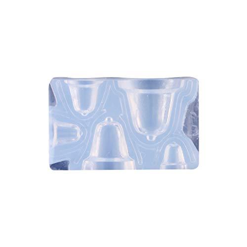 Mi Tu - Stampo in silicone a forma di campana/stivali/Babbo Natale fai da te, per creare gioielli in argilla 1