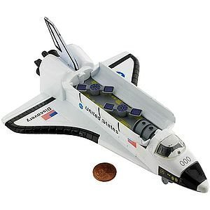 Die Cast Space Shuttle - große 8-Zoll [ Spielzeug ] (Spielzeug Space Shuttle)