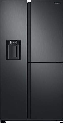 Samsung RS8000 RS6GN8671B1/EG 3 Door Side-by-Side/A++ / 604 ℓ/Premium Black Steel/Twin Cooling+ / Metal Cooling/No Frost+