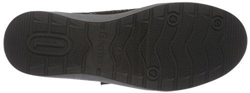 Ganter Damen Sensitiv Klara, Weite K Sneakers Schwarz (schwarz / vino 0142)