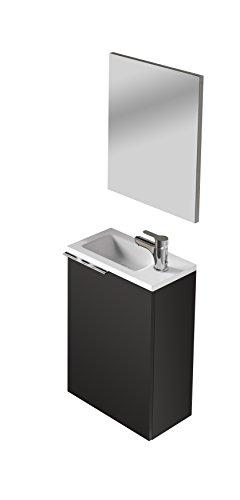 13 CASA Meuble lavabo, Blanc, 58 x 40 x 22 cm