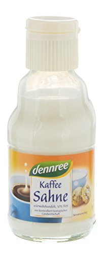 dennree Kaffeesahne 10%, 165 ml