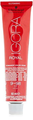 Schwarzkopf IGORA Royal Premium-Haarfarbe 9-98 extra hellblond violett rot, 1er Pack (1 x 60 g)