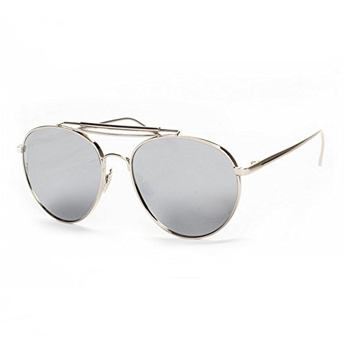 Z-P unisex retro metal frame color film lens yurt sunglasses anti-ultraviolet radiation 51mm