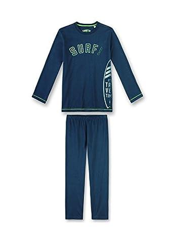 Sanetta Jungen Zweiteiliger Schlafanzug 243877 Blau (Neptun 50226), 140