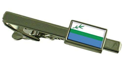Il Labrador (bandiera locale) Clip Bar con inciso personalizzato nella casella di messaggio