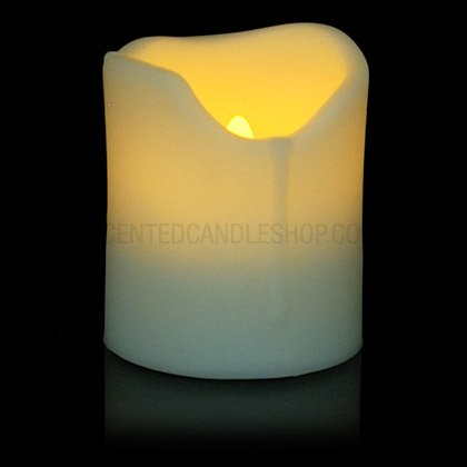 LED funciona con pilas vela
