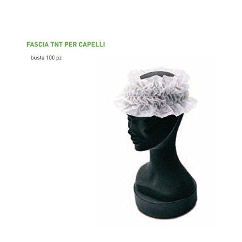 Ro.Ial - Fasce Per Capelli (100 Pezzi)