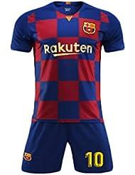 1337a31d75b6f YSYFZ Camiseta Deportiva de Manga Corta para Hombre Traje de fútbol para  Adultos Traje de Entrenamiento