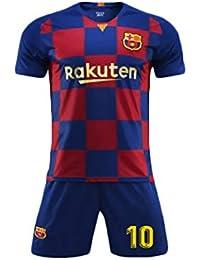 YSYFZ Camiseta Deportiva de Manga Corta para Hombre Traje de fútbol para  Adultos Traje de Entrenamiento 5241561b9e081