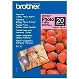 Brother BP61GLP Carta per Stampanti a Getto d'Inchiostro, A4 10 x 15