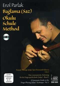 BAGLAMA (SAZ) SCHULE 1 - arrangiert für Baglama / Saz (türkisches zupfinstrument) - (Baglama) - mit DVD [Noten / Sheetmusic] Komponist: PARLAK EROL