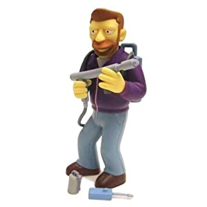 PlayMates Simpsons Hank Scorpio Action Figure - Rare Chase Figure by 4