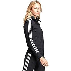 Adidas TT Chaqueta Deportiva Impermeable Para Mujer Color Negro Talla 36
