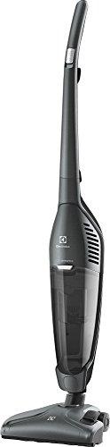 Electrolux EUEL72LGM Sin bolsa Gris 1,5 L 550 W - Aspiradora escoba (Sin bolsa, Gris, 1,5 L, Secar, Ciclónico, Cyclonic/filtering)