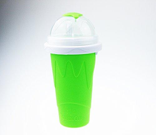 Squeeze Cup Slushy Maker - Magic Becher Slushy Eis zum selbst machen - grün [ARTUROLUDWIG]