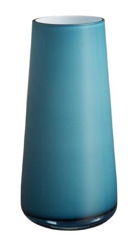 Große Vase Carribean Sea, 34 cm, Glas, Blau/Türkis ()