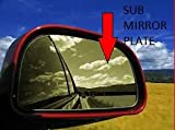 #2: PWX SIDE MIRROR PLATE FOR OPTRA RIGHT SIDE