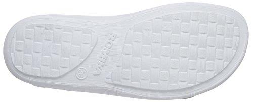 Romika - Village 374, Pantofole Donna Bianco (Weiß (weiß 000))