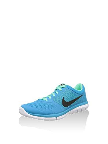 Nike Damen, Sneaker, Md Runner 2 hellblau-weiss-schwa
