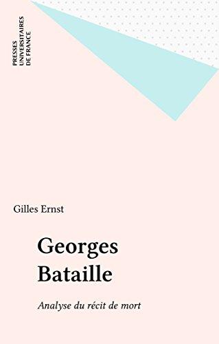 Georges Bataille: Analyse du rcit de mort
