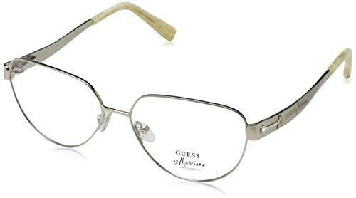 Guess Damen GM0122 Q63-53-0-111 Brillengestelle, Weiß, 53