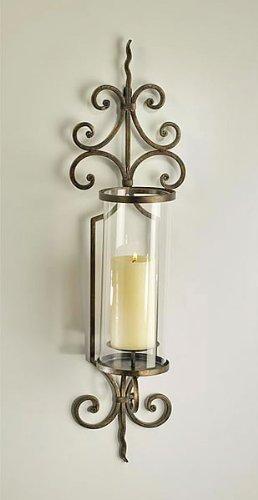Cyan Beleuchtung 01594Pavillion–76,2cm Wand Kerzenhalter, Rost-Finish