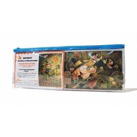 Puzzle Wil d'art en bois pour enfant-24 pièces-Gorbine et Monstrocalm MICHAUT