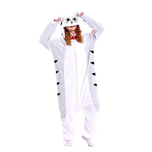 ll Hoodie Tier Pyjama Sweet Home Käse Katze Cartoon Pyjamas Onesies Overall Nachtwäsche Erwachsene Nachtwäsche Kigurumi Cosplay Kostüm ()