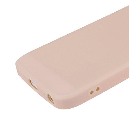 iPhone SE Hülle Dünn Silikon, Asnlove 2 Pack Handy Schutzhülle für Apple iPhone 5 / 5S / SE Hülle TPU Silikon Backcover Case Handytasche Einfarbig Telefon-Kasten Tasche Schutz Cover Design Schwarz Color-4