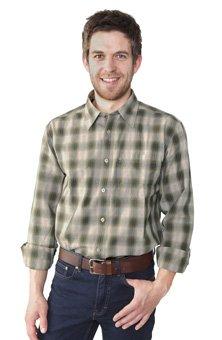 Wrangler L/S Jaquard Check Shirt Fog