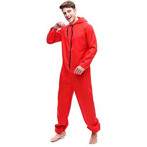 Reaper Soul Kostüm Cosplay - ZHANGXX Dali Kostüme Cosplay Kleidung Banknoten Haus Halloween Jumpsuit Bankräuber Kostüm Rot Anzug Dali Maske Party Dress,Clothing-180-185CM