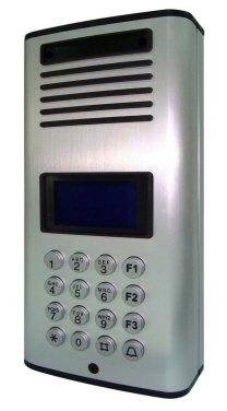 TC113- GSM MULTI-263 WIRELESS FLAT DOOR ACCESS ENTRY INTERCOM SYSTEM