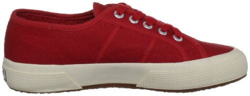 Superga 2750 JCOT Classic Unisex-Kinder Sneakers Rot (Red 975)