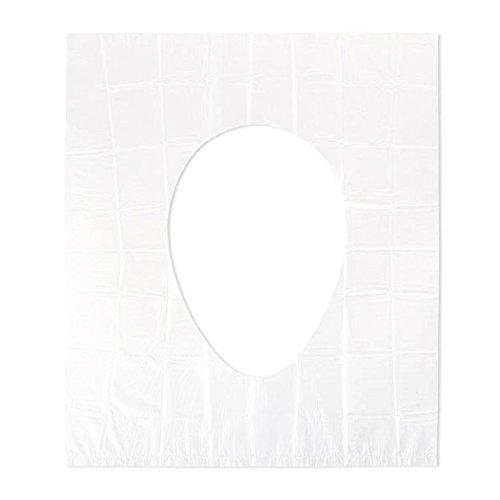 Newin star coprisedile usa e getta impermeabile proteggi vasino di carta protezioni sedili per servizi igienici pubblici viaggi copriwater pad cuscino stuoia 10 pezzi trasparente