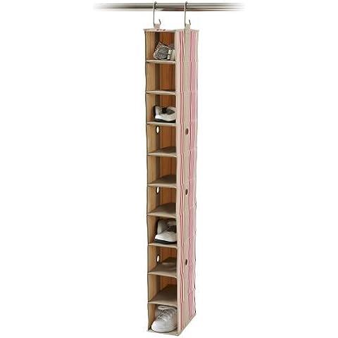 neatfreak 7130-D2 neatKids 10 Shelf Closet Organizer, Candy Taffy by (Neatfreak Organizer)